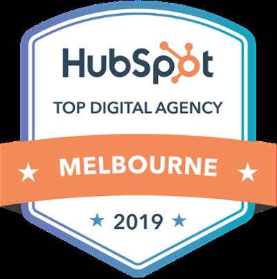 HubSpot Top Digital Agency - 2019 - Melbourne